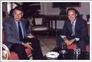 Gregorio Marañón Bertrán de Lis en compañia